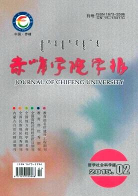 赤峰学院学报(汉文哲学社会科学版)